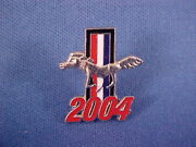 2004 Ford Mustang Jackethatlapel Pin/tie Tack-mint 04