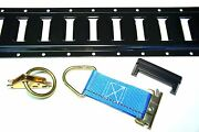16pc E Track Tie Down Kit Enclosed Trailer Toy Hauler Cargo Van 5and039 E Track Rails