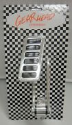 Extra Large Street Rod Throttle Gas Pedal Aluminum Chevy Ford Polished Sbc 350