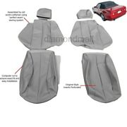 Mercedes Benz 1990-1995 300sl 500sl 600sl R129 Leather Seat Cover Early Style