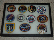 Nasa Patches Apollo I 11 Xii 15 14 Sts-87 + 5 Others