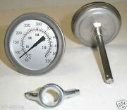 Lot Of 5pcs Fandc 3 Bbq Smoker/pit/grill Thermometer Temp Gauge