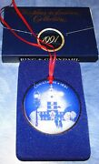 1991 Christmas In America Bing And Grondahl 1991 Independence Hall Bandg Ornament