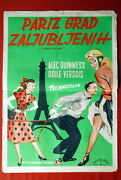 To Paris With Love Versois Alec Guiness Odile Versois 1955 Exyu Movie Poster