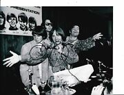 The Monkees Davy Jones Signed 8x10 Black And White