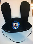 2012 E3 Disney Epic Mickey Mouse 2 Oswald Ostown Ears Felt Hat Rare Exclusive