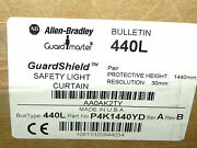 Factory Sealed 440l-p4k1440yd Safety Light Curtain Pair Ser. A P4k1440yd