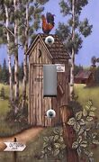 Light Switch Plate Outlet Covers Americana Folk Country Art Outhouse Rooster