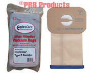 Commercial Vacuum Cleaner Bag Electrolux Cannister Part 850 Type C 2-ply Ecc805