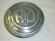 Reo Vintage Antique Old Grease Cap Dust Cover Center Cap Screw On Hub Cap