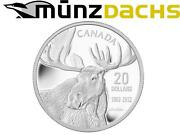 20 Robert Bateman Moose .9999 1 Oz Fine Silver Coin Canada Proof 2012 Sold Out