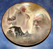 The Lord Of The Rings Calendar Adventure May Bradford Exchange Plate