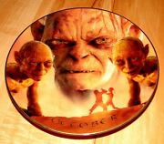 The Lord Of The Rings Calendar Adventure October Bradford Exchange Plate
