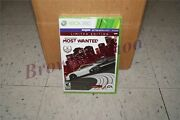 Need For Speed Most Wanted Limited Edition Xbox 360 New Sealed