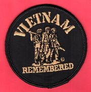 Vietnam Remembered Patch 3 Old Store Stock