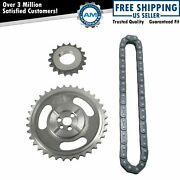 Roller Timing Chain And Gear Set Kit For Chevy Gmc Cadillac