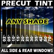 Nano Carbon Window Film Any Tint Shade Vlt Precut All Sides Andrears For Bmw Glass