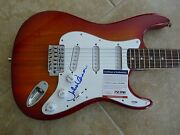 Julian Lennon Ip Signed Autographed Electric Guitar Psa Certified The Beatles