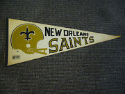 1970's Officially Licensed Nfl Pennant New Orleans Saints Ex