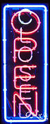 New Open And Closed Vertical 32x13 Border Real Neon Sign W/customoptions 11012