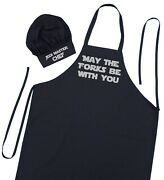 Star Wars Novelty Apron And Chef Hat Set   Barbecue Apron Gift By Coolaprons