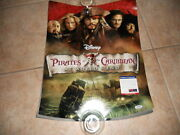Johnny Depp Signed Autographed Sexy Pirates 16x20 Photo Psa Certified 1 G1