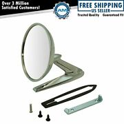 Side View Mirror Chrome Outer Left Or Right For 63-66 Pontiac Bonneville Gto