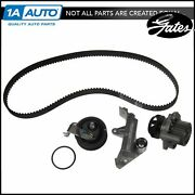 Gates Water Pump And Timing Belt Component Kit Set For Vw Audi 1.8l Turbo