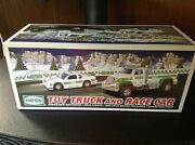 2011 Hess Toy Truck And Race Car New In Box Really Nice