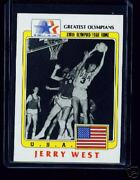 100 1983 Olympic Jerry West Basketball Cards 91
