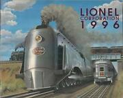 1996 New York Central Cover Lionel Classic Trains Catalog Excellent Condition
