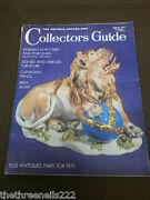 Antique And Collectors Guide - Animals In Pottery - Jan 1971