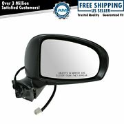 Mirror Power Heated Gloss Black Passenger Right Rh For Toyota Prius Type G And Sl