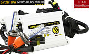 H11-b Hid Xenon Ac Digital 55w Sportiva Conversion Kit With Relay Harness