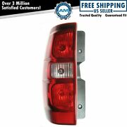 Tail Light Taillamp Driver Side Left Lh For 2007-2014 Chevrolet Tahoe Suburban