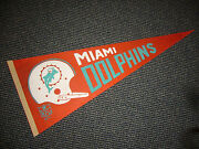 1967 Nfl Miami Dolphins Nice Pennant