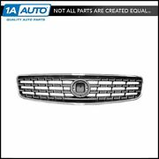 Chrome And Gray Upper Front Grille Grill 62070zb000 For 05-06 Nissan Altima