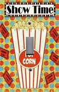 Light Switch Plate Switchplate And Outlet Covers Movie Room Show Time Popcorn