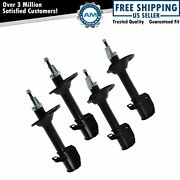 Strut Front And Rear Lh And Rh Kit Set Of 4 For 95-99 Subaru Legacy Awd 4wd