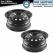 Dorman 16 Inch Steel Replacement Wheel Rim New Pair For 06-12 Fusion Milan