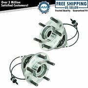 Front Wheel Hub And Bearing Pair Set 513124 Timken For Chevy Pickup Truck 4x4 4wd