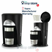Morphy Richards Coffee Filter Machine With Thermal Travel Mug And Filter - 162740