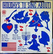 Lynn And Jamie Glaser Holidays To Sing About Lp Vg+ Private Funk Psych Breaks 1979