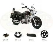 Chain And Sprockets Set To Fit Pioneer Torro 125 Xf125l-4b
