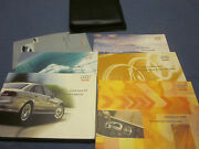 2004 Audi A8 A 8 Owners Manual Set W/ Case And Navigation / Mmi
