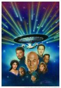 Star Trek The Next Generation - All Good Things Litho Total Cast Signed