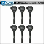 Ignition Coils Kit Set Of 6 New For Acura Rl Tl Nsx