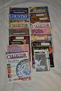 14 - Mixed Lot Antique Traders - Collectors 1988 - 1994 Magazines Price Guides