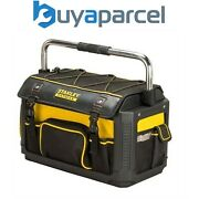 Stanley Sta179213 Fatmax 1-79-213 Plastic Fabric Tote Toolbag 20 Inch With Cover