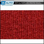 For 1987-95 Jeep Wrangler Cutpile 8801-flame Red Complete Carpet Molded